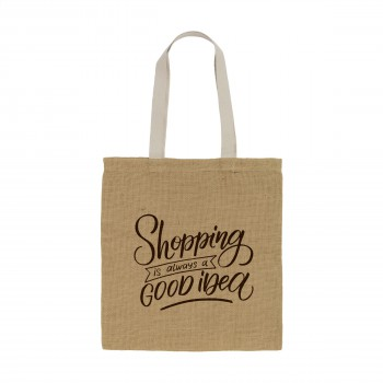 Geneva Jute Shopper tas